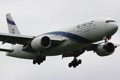 4X-ECC | Boeing 777-258ER | El Al (cv880m) Tags: london israel heathrow boeing 777 lhr elal 777200 4xecc
