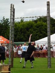 Throwing 25kg made to look easy (Screwdriver32,more off than on :-() Tags: scotland fuji highlander finepix fujifilm bagpipes tartan highlandgames ayrshire dundonald 2013 hs10 hs11 myfuji screwy32 screwdriver32