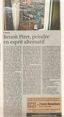Claude Lorent juin 2013 (Otto Rivers) Tags: art portraits galeries belgium belgique collages bruxelles flipchart peintures expos artiste contemporain benoitpiret