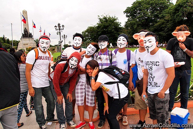 Million March in Luneta to Scrap Pork  photos by Azrael Coladilla