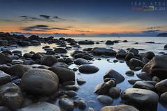 Arribolak (saki_axat) Tags: longexposure seascape sunrise rocks amanecer bermeo arribolas canonikos