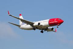 LN-DYG Norwegian Air Shuttle Boeing 737-8JP(WL) (amisbk196) Tags: uk aircraft aviation air norwegian shuttle boeing amis gatwick 737 2013 lndyg 8jpwl