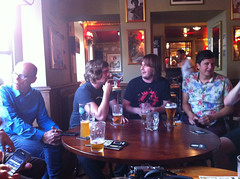 Geeks in a pub