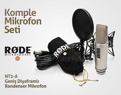 RODE NT2-A Geni Diyaframl Kondenser Mikrofon (gitarpazar) Tags: mic mikrofon rode condenser nt2a kondenser gitarpazar