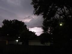 I almost caught that bolt of lightning (debstromquist) Tags: illinois backyard il brookfield lightning storms alleys unedited lastofthesummerstorms 4daysfromautumn