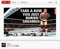 WWE Official Pinterest posts another Heelbook meme