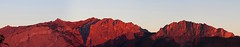 Panorama, Take Two (21mickrange) Tags: mountains rockies alberta rockymountains campground seebe bowriver alpenglow yamnuska exshaw canadianrockies bowvalleyprovincialpark willowrock