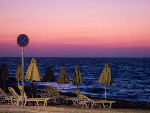Sunset - Kameiros beach
