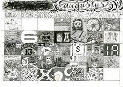 Visual_Diary_2013-008_Augustus (joostmarcellis) Tags: pen ink work typography graphicdesign drawing typo werk typografie grafischontwerp joostmarcellis marcelvandenberg marcelvandenberggrafischontwerp