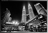 The Petronas Twin Towers at the Kuala Lumpur City Centre (Zainal Hisham Yusuf) Tags: malaysia kualalumpur klcc petronastwintowers sigma1020mm suriaklcc nikond300