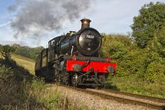 GWR - 7822 - FOXCOTE MANOR (mark_rutley) Tags: train somerset locomotive steamtrain northsomerset greatwesternrailway foxcotemanor 7822 northsomersetrailway