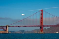 Last flight of the Space Shuttle Endeavour (theordinaryphotographer) Tags: goldengatebridge spaceshuttle flyover flyby endeavour lastflight ov105