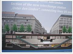 Berlin - U-Bahnhof Unter den Linden (Jorbasa) Tags: city berlin station germany deutschland town hessen ubahnhof hauptstadt unterdenlinden baustelle stadt brandenburgertor bahn geotag neubau wetterau bahhof jorbasa