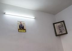 Kurdish Politicians Pictures, Erbil, Kurdistan, Iraq (Eric Lafforgue) Tags: colour horizontal asia neon politics iraq middleeast nobody nopeople indoors iraqi erbil kurdistan arbil  irak kurdish kurd colorimage iraque hewler irbil northerniraq iraqikurdistan   iraaq  dsc01532      eraqi pa