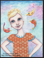 Proud Me - Kylie Pepyat-Fowler (Kylie Fowler AKA: Blissful Pumpkin) Tags: girl collage illustration fairytale portraits painting bigeyes artwork whimsy drawing mixedmedia fairy watercolour tale whimsical kyles howtodraw whimsicalmixedmediaart kyliefowler kyliepepyatfowler blissfulpumpkin kyliefowlercom howtopaintbigeyedgirlskyliepepyatkyliepepyatfowler