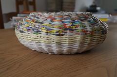 http://calabashbazaar.blogspot.fr/2014/01/nowe-podkadki-stary-koszyk.html (Calabash Bazaar) Tags: newspaper handmade recycling wastepaper upcycling paperbasket paperpads paperwicker