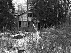 Drive By (drei88) Tags: ohio abandoned danger dismal empty vacant bleak blight hiram forlorn depressing mantua deterioration portagecounty garrettsville