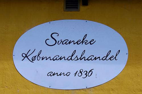 Svaneke Købmandshandel.