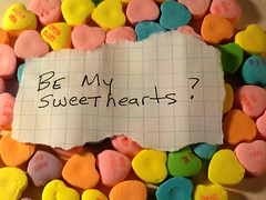 Be My Sweethearts (Richard Elzey) Tags: pink red favorite holiday 3 love saint st happy hope spring girlfriend day perfume married candy heart 14 chocolates husband valentine romance christian special gifts shannon richard presents yours wife sweets romantic cupid tradition february bemyvalentine realities lizclaiborne 20years elzey saintvalentinesday bestwife feastofsaintvalentine