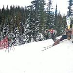 Teck U16 Provincials, SG start, at Purden Ski Village, Prince George Ski Club PHOTO CREDIT: Keven Dubinsky