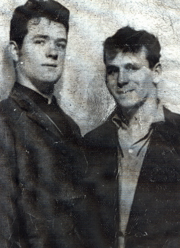 Steve Fitzsimons and Tommy Smith 1963