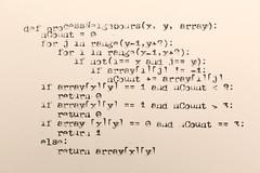 IMG_7667 (Skrekkgle) Tags: typewriter code python erika ascii skrekkogle skrekkgle