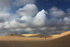 White Sand Dunes of Mui Ne (pietkagab) Tags: trip travel people white yellow clouds canon photography sand asia dunes tracks vietnam southeast muine mygearandme mygearandmepremium mygearandmebronze pietkagab