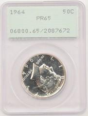 1964 JFK PCGS PR65 Rattler obv.JPG (UGotaHaveArt) Tags: jfk elements kennedy rattlers pcgs halfdollars typecoins