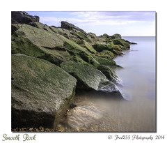 Smooth Rock (Fred255 Photography) Tags: uk sea england bw seascape rock landscape landscapes brighton fred l 1ds eastsussex ef manfrotto saltdean haida markiii canonef2870mmf28lusm llens heliopan 1dsmk3 canoneos1dsmarkiii 1ds3 leeholder fred255 neutraldensitygreyfiltersquare100mm