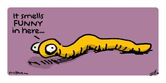 """buttworm"" - a doodle by eric Hews  2014 (eric Hews) Tags: copyright illustration fun virginia funny eric artist comic drawing butt humor cartoon emo creative funnies philosophy richmond crap strip poop smell shit writer comicstrip illustrator haha poo worm toon behavior society psychology 2014 rectum rectal tapeworm intestinal ringworm pinworm hews erichewscom erichews acrossthepond 2014erichews ennuizle"