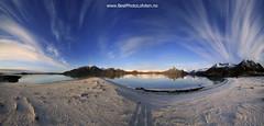 Spring time Laukvik from Sainya (June Grnseth EFIAP PPSA) Tags: ocean blue panorama mountains june norway landscape spring sand clear lofoten featherclouds laukvik grnseth bestphotolofoten