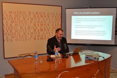 Seminario de expertos en Historia, Legislación y Organización Societaria 6