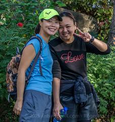 Hello there... (antwerpenR) Tags: china girls hk girl cn hongkong asia southeastasia meetup hiking hike girlz asean clearwaterbay diamondhill