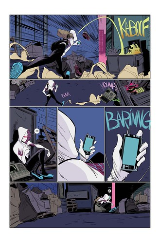 "Spider-Gwen_1_Preview_2 • <a style=""font-size:0.8em;"" href=""http://www.flickr.com/photos/118682276@N08/16246612500/"" target=""_blank"">View on Flickr</a>"