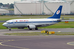 Belavia, EW-336PA, Boeing 737-3Q8 (Anna Zvereva) Tags: plane airport aviation airbus boeing spotting dme domodedovo  uudd