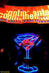 Bar sign, Rosslyn (Bill Jonscher) Tags: colors sign bar night neon glow drinking martini booze nightlife recreation relaxation buzzed saloon