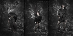 Panel XII (chinese johnny) Tags: leica portrait beautiful beauty asian women triptych photoshoot workshop 7d m9 mep canon7d leicam9 flickrunitedaward artisawoman mysteryeyes photopanels studiowithoutwalls
