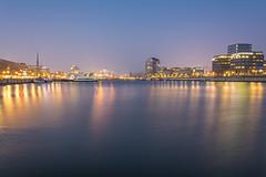 Skyline Kiel (rahe.johannes) Tags: kiel blauestunde hörn