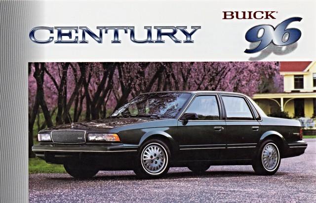 century sedan buick postcard 1996