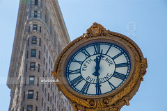 Fifth Avenue. (arturii!) Tags: city trip travel blue sky urban sun newyork detail building clock beauty architecture america wow island amazing nice interesting construction holidays cityscape tour unitedstates superb manhattan awesome watch great broadway sunny landmark route hour stunning viatge fifthavenue vacations flatiron impressive skyscaper gettyimages arturii arturdebattk canonoes6d