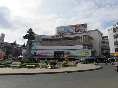 Place centrale de Dalat, Vietnam