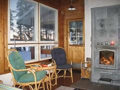 Puumerkki Cottage Living Room