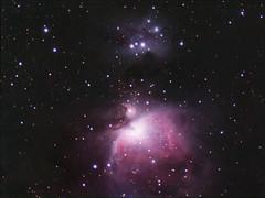 Orion and Running Man Nebula - 2/15/15 (astr0pics) Tags: astrophotography astronomy astrometrydotnet:status=solved astrometrydotnet:id=nova1017478