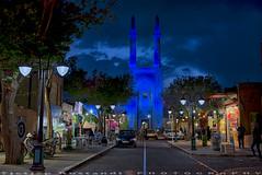 Blue mosque at blue hours (T   J ) Tags: nikon iran d750 yazd teeje nikon2470mmf28