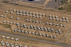 Area 15 - Aerospace Maintenance and Regeneration Group (AMARG) - Davis-Monthan AFB, AZ (David Skeggs) Tags: tucson aircraft military aeroplane usaf boneyard usairforce davismonthan amarc overflight masdc amarg davidskeggs