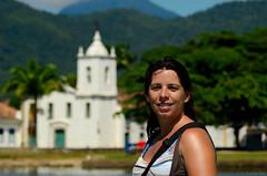 150326 0904 Paraty, Brasil (nicolaskuntscher) Tags: brazil portrait costa church southamerica brasil paraty architecture arquitectura nikon plantas retrato iglesia verano nk vegetacin sudamrica nikond7000