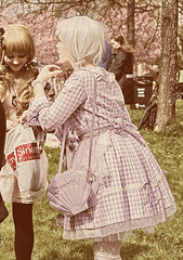 Hanami 2015 (ri Sa) Tags: finland helsinki lolita sakura hanami roihuvuori