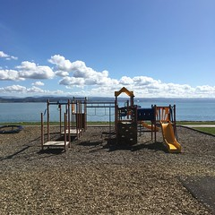 what a playground (nakgnehc) Tags: newzealand playground waterfront promenade uncropped napier
