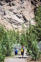 adventurers (Ben McLeod) Tags: friends brothers hike climbing liam myboys campbell rockclimbing smithrock smithrockstatepark