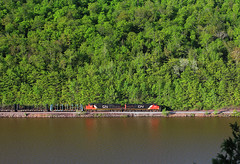 Trade Offs (view2share) Tags: railroad morning travel trees lake water leaves mi cn forest train spring woods track michigan transport may tracks rail railway rr trains roadtrip transportation rails local wilderness peddler ge upperpeninsula overlook freight northwood bluff railroaders springtime railroads northwoods northbound generalelectric canadiannational freighttrain uppermichigan 2016 railroading freightcars northernmichigan marquettecounty gooselake freightcar dash9 rring c449w trackage logcar rrcar mixedfreight cn2553 marquetterange marquetteironrange oreline pulpwoodcar marquetterangesub cn2648 may2016 deansauvola may302016